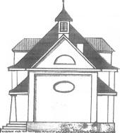 1911 von der BASF als Simultan-Kapelle für Prot. + Kath. gebaut